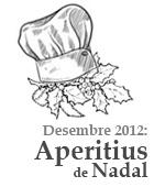 Desembre 2012: aperitius de Nadal