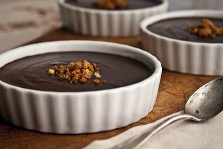 Natilles de xocolata