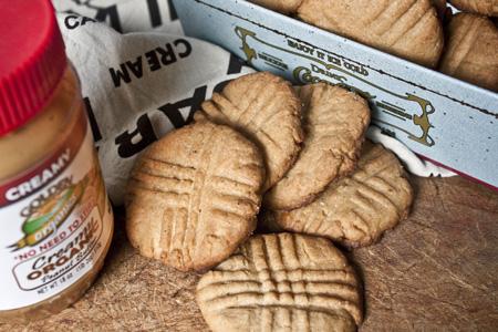 Galetes de mantega de cacahuet
