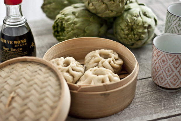Panets xinesos al vapor (baozi)