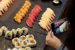 Degustació de sushi